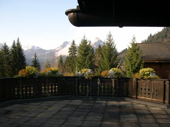 Wellness & Spa Hotel Ermitage: la vue sur les Alpes