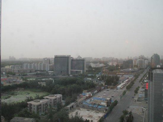 Beijing Marriott Hotel Northeast: View from room