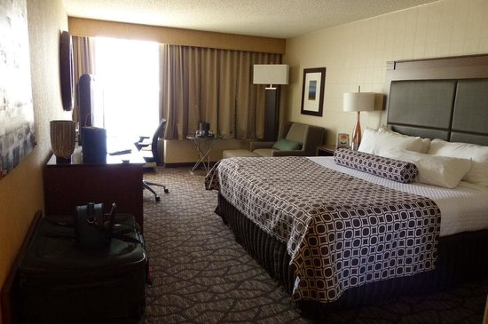 "Radisson Hotel North Baltimore : another view of the ""renovated"" room"
