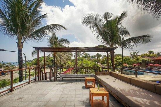 Bali Niksoma Boutique Beach Resort: Hitana Restaurant - Rooftop
