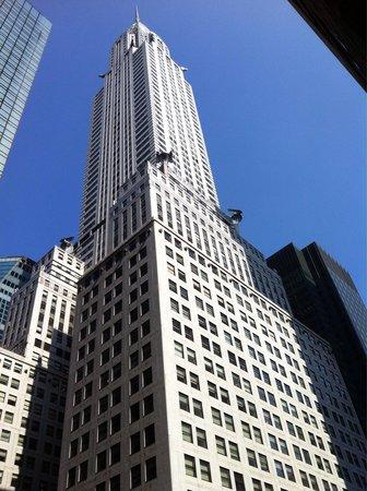 Chrysler Building : Chrysler  beautiful day.