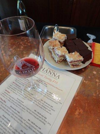 Hanna Winery: wine tasting & sweets