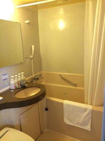 Matsue Excel Hotel Tokyu : お風呂は大きめでした。