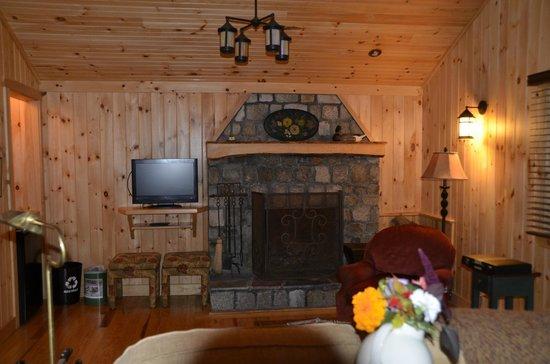 Migis Lodge: Living area in Daybreak