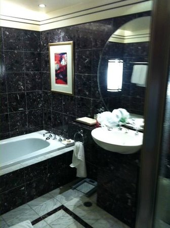 Sheraton on the Park, Sydney: Large bath, bathroom bigger than my apartment