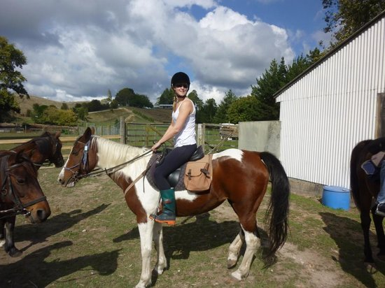 Briars Horse Trek: setting out