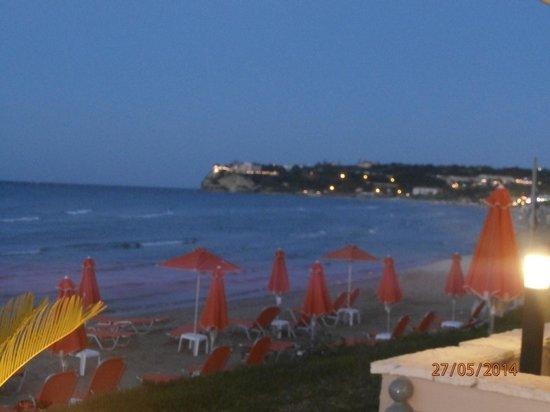 Al Mare Beach Hotel: View from balcony