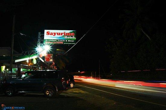 Sayurima Hotel: Front View