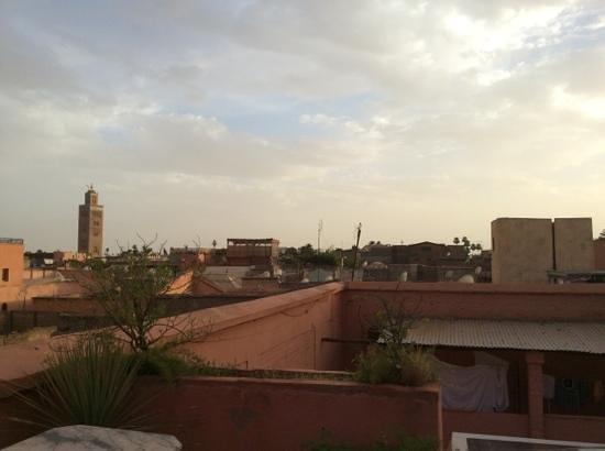 Ksar Es Saoussan: panorama dai tetti