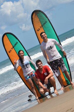 Bali Ocean Surf, avec Pierrik