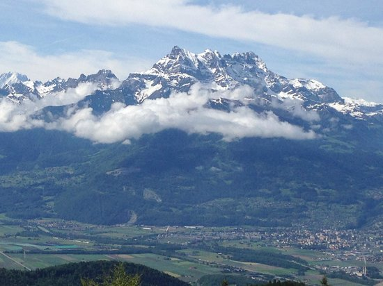 Les Airelles : gorgeous view of the alps from the room