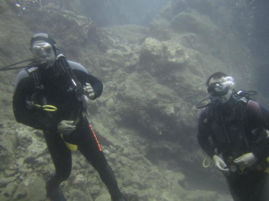 Cidade de Naxos, Grécia: graviera reef!