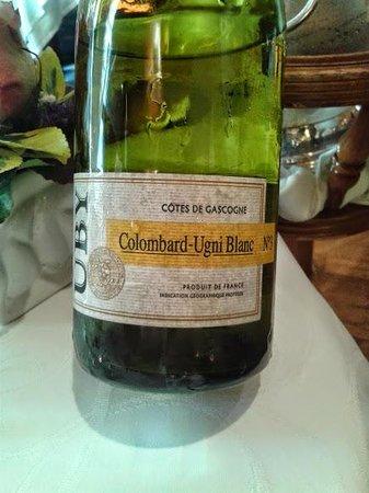 Au Boeuf Rouge: Vin blanc UBY, arome Pamplemousse