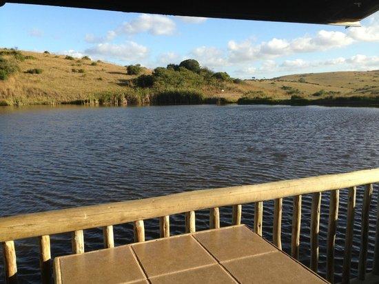 Lake Eland Game Reserve: Stoep