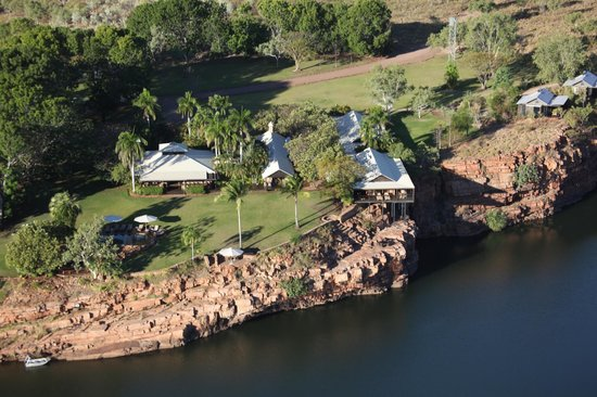 El Questro Homestead : From the helicopter
