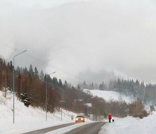 Undersaker, Sweden: frosty day
