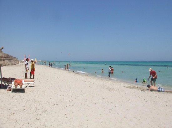 Djerba Plaza Hotel & Spa: la plage impecable