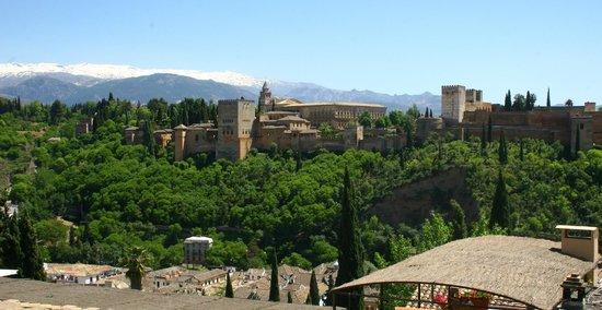 Albayzin: Albacin, Panorama su Alhambra