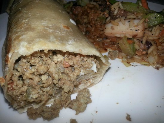 Catalonia Royal Tulum: Ristorante La Selva: burrito!!!!