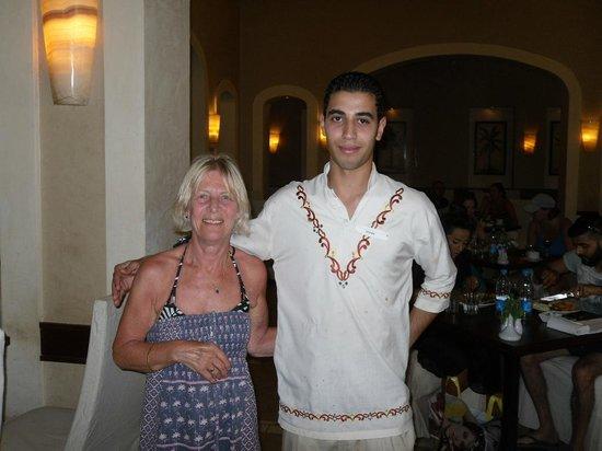 Jaz Mirabel Park : Our attentive waiter (Ahmed)