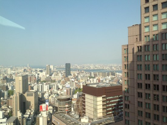 The Ritz-Carlton, Osaka : views from rooms can be nice