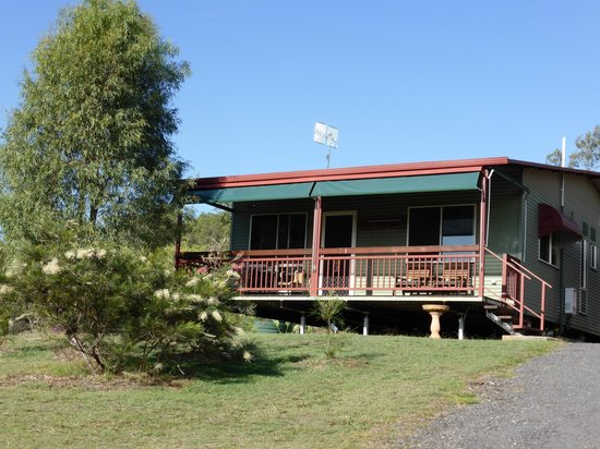 Destiny Boonah Eco Cottages and Donkey Farm : Green Cottage