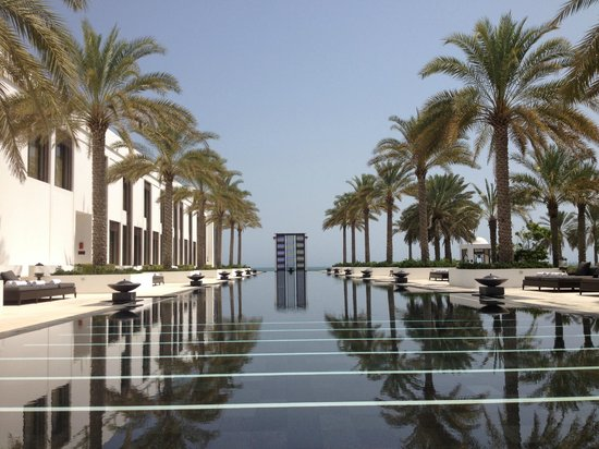 The Chedi Muscat – a GHM hotel: one out of 3 pools