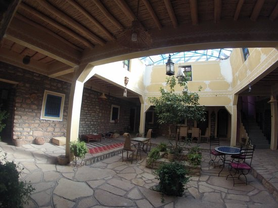 Kasbah Imini: the beautiful dining room