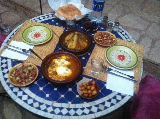 Kasbah Imini: The food