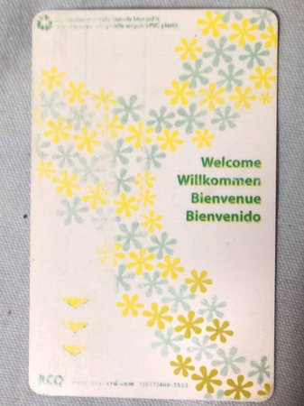 HI Lake Louise Alpine Centre : keycard