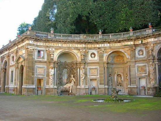 Villa Aldobrandini : Парк