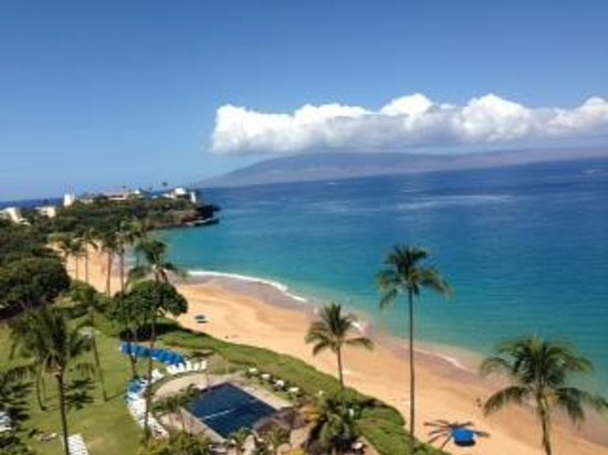 Royal Lahaina Resort: View from hotel room balcony.