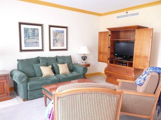 Marriott's Village d'Ile-de-France : Living/dining room, free WIFI