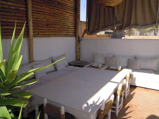 Riad les Orangers d'Alilia Marrakech: terrasse