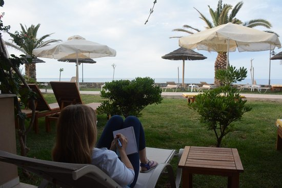 SENTIDO Blue Sea Beach : View from beach front bungalow