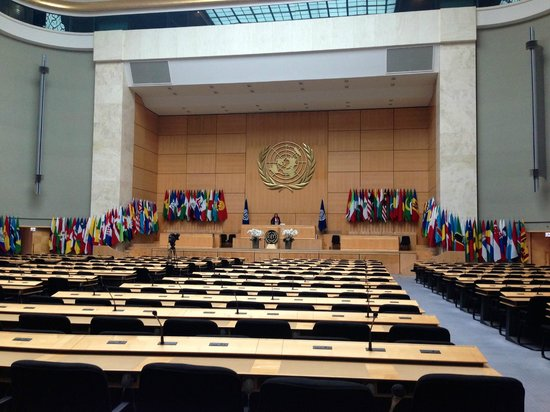 UNOG - Palais des Nations: This is what you are going to see