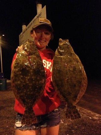 Night Stalker Guide Service: Big flounder