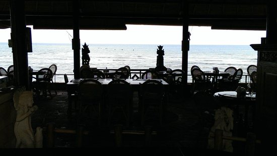 Adirama Beach Hotel: The view from the restaurant! Spectacular!!