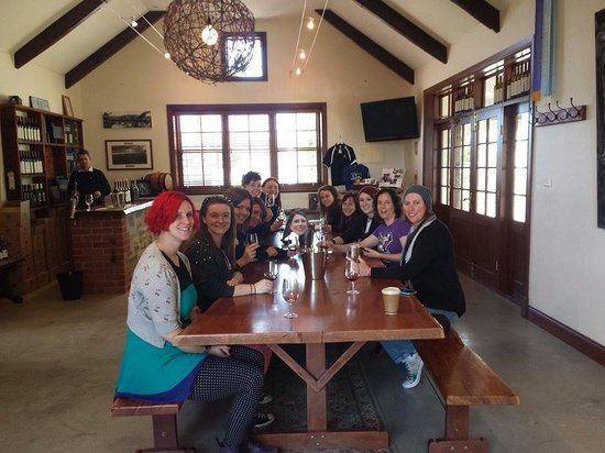 Bums On Seats Day Tours: Our group at Rusdan Wines