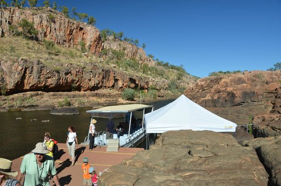 Nitmiluk Tours - Day Tours: first gorge transfer and rock art stop