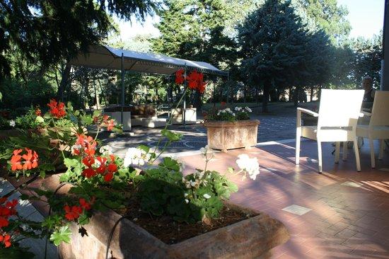 Hotel Villa Ambra: il parco del Villa Ambra