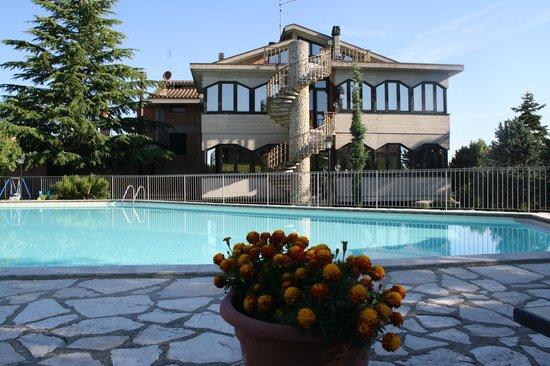 Hotel Villa Ambra: la pisciana del Villa Ambra