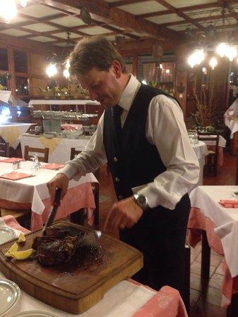 Chiesina Uzzanese, İtalya: Buona la fiorentina