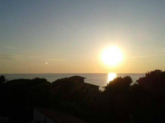 Hotel Corallo : Panorama dalla camera niente male..