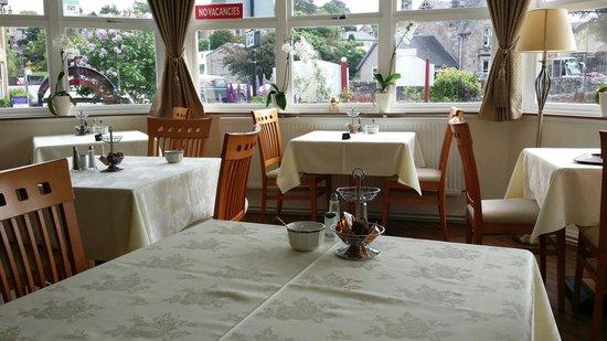 Atholl Villa: The restaurant.