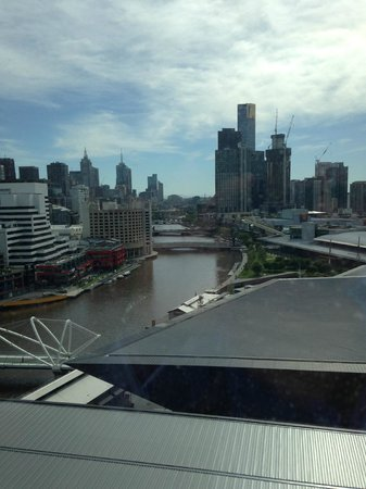 Hilton Melbourne South Wharf : View from room