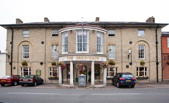 Grosvenor Hotel  Restaurant: Exterior