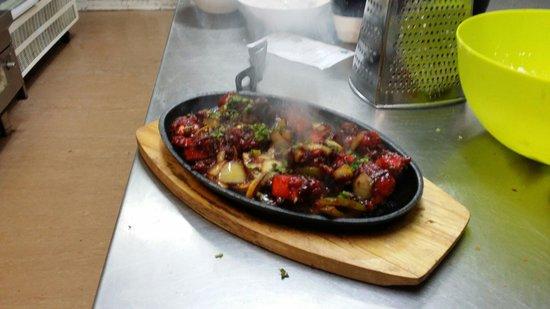 Ambience Fine Indian Cuisine : Chicken sisler....