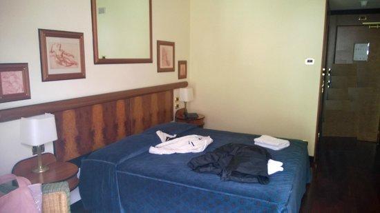 Grand Hotel Pigna Antiche Terme : Letto