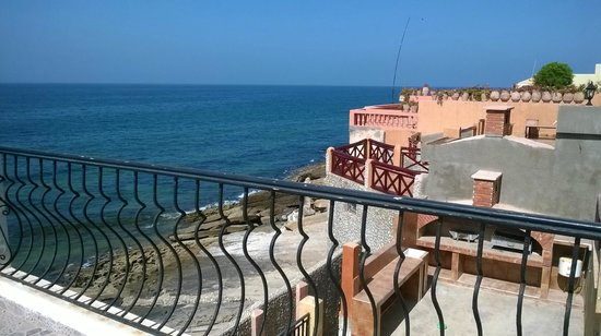 Dfrost Almugar Surf House Taghazout: view from terasse